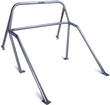This Mustang Roll Bar Is Designed For Street Use And Will Add Substantial Stiffness To Your Chis Not Nhra Legal
