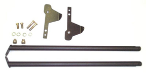 Brey-Krause R-1031 Harness Mount Adapter Kit for 996 GT2 & GT3