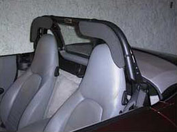 Brey-Krause Roll Bar Extensions R-9050 Boxster Roll Bar Padding