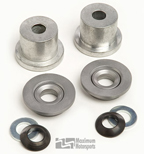 Maximum Motorsports Front Steering Rack Bushings, Aluminum MMST-7