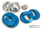 Maximum Motorsports Front Steering Rack Bushings, Aluminum MMST-6
