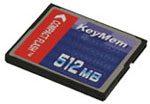 Race Technology 512MB compact flash card